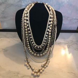 Ann Taylor multi strand necklace